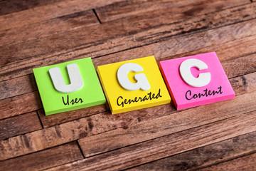 post-it acronym : UGC