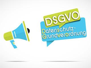 mégaphone : DSGVO