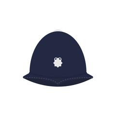British police helmet.
