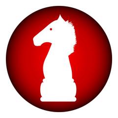 Chess elephant icon.