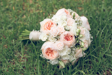 Nice bridal bouquet