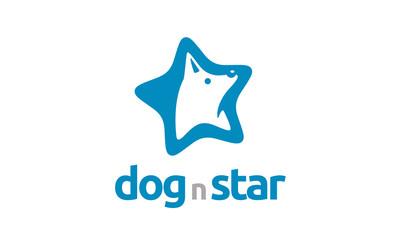 Dog and Star logo design inspiration