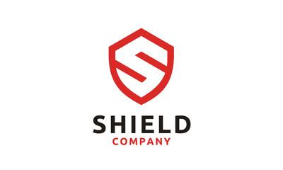 Initial Letter S Shield Secure Safe Secret Strong logo design vector
