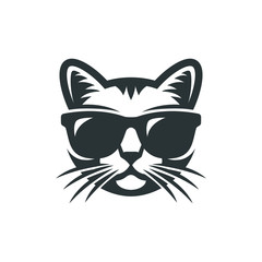 Cat in sunglasses