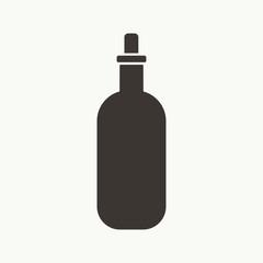 Bottle Simple Silhouette Icon