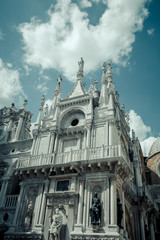 Architecture and historical buildings in Venice, Venezia, Italy, cityscape, historic europe, landmark