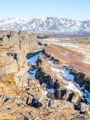 Thingvellir, national park in Iceland