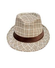 Summer hat on white background.