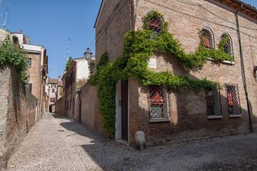 Centro medievale di Ferrara, Emilia Romagna