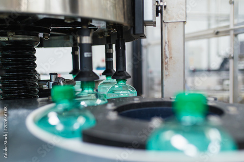 Bottling plant - Water bottling line for processing and