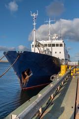 Docked Ship in Stanley, The Falklands