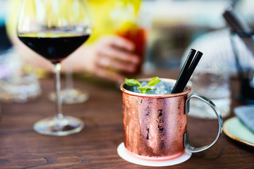 Russian mule cocktail