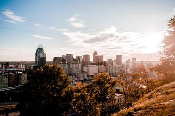 Cincinnati at Sunset