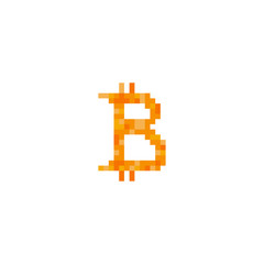 Pixel bitcoin for games and websites