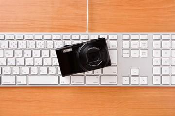 カメラとキーボード
