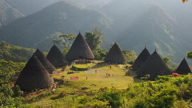 Wae Rebo Village in Flores Indonesia