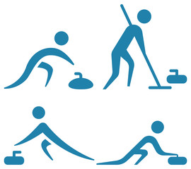 Curling icons