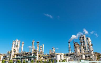 石油精製工場
