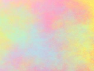 Sfondo delicato con diversi colori pastello