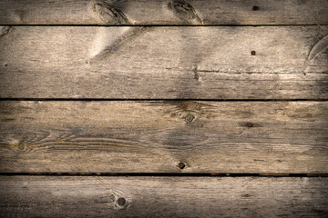 Wooden background of pine boards