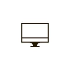 computer monitor icon. sign design