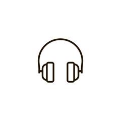 headphone icon. sign design