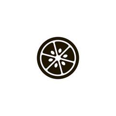 lemon icon. sign design