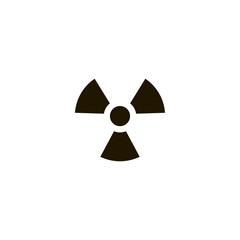 radiation icon. sign design
