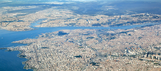 Istanbul, Aerial View