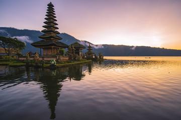 Ulan danu, Bali, Indonesia