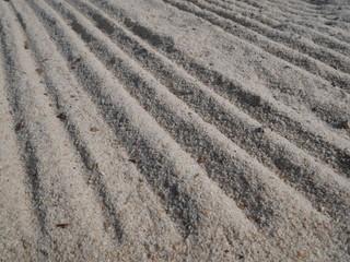 sable fin sillons