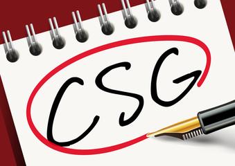 impôt - CSG - finance - taxe - sécurité sociale - assurance maladie - pensions de retraite - retraite