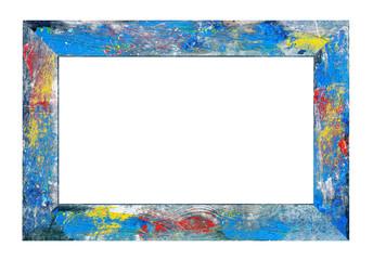 Vintage colorful frame