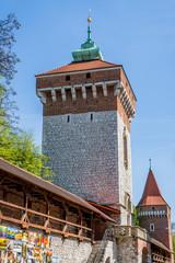 Les anciens remparts de Cracovie