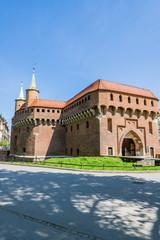 Anciens remparts de Cracovie
