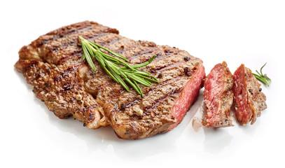 grilled beef steak Wall mural