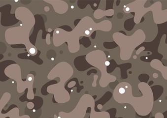 Cartoon dust camouflage pattern
