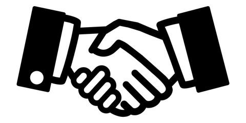 gz81 GrafikZeichnung - german: Händedruck / Handschlag / Kundenbeziehung / Welthandel - english: handshake / customer relation / world trade - banner 2to1 xxl g6072