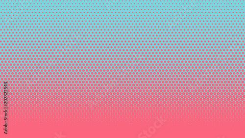 Halftone gradient pattern vertical vector illustration  Pink