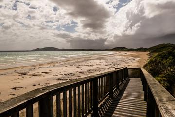 Stormy skies, Green Point beach