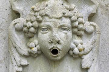 Ancient water spout