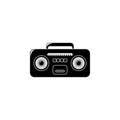 cassette player icon. Element of equipment illustration. Premium quality graphic design icon. Signs and symbols collection icon for websites, web design, mobile app