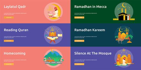 Eid and Ramadan Banner Design