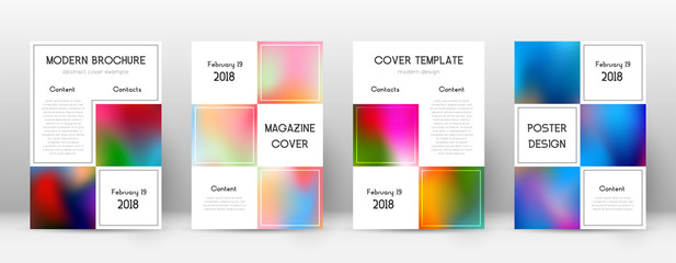 Flyer layout. Business juicy template for Brochure, Annual Report, Magazine, Poster, Corporate Presentation, Portfolio, Flyer. Adorable colorful cover page.