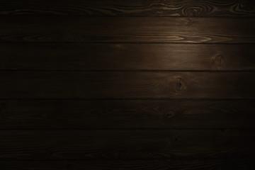 Wooden dark background