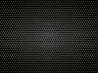 black perforated metal background