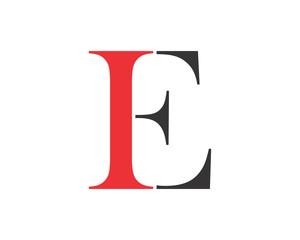 initial typography typeset logotype alphabet font image vector icon logo symbol
