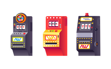 Slot machines, electronic virtual game with making points and bonuses.