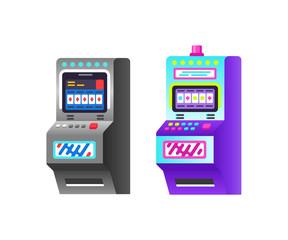 Slot machine, electronic virtual game with making virtual points, bonuses.
