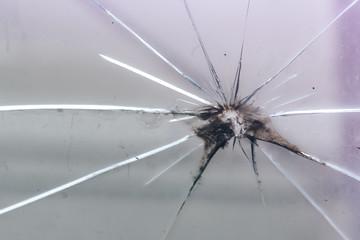 broken glass for background pattern